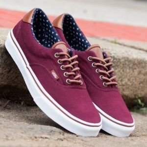 VANS - low top era 59 sneaker shoes